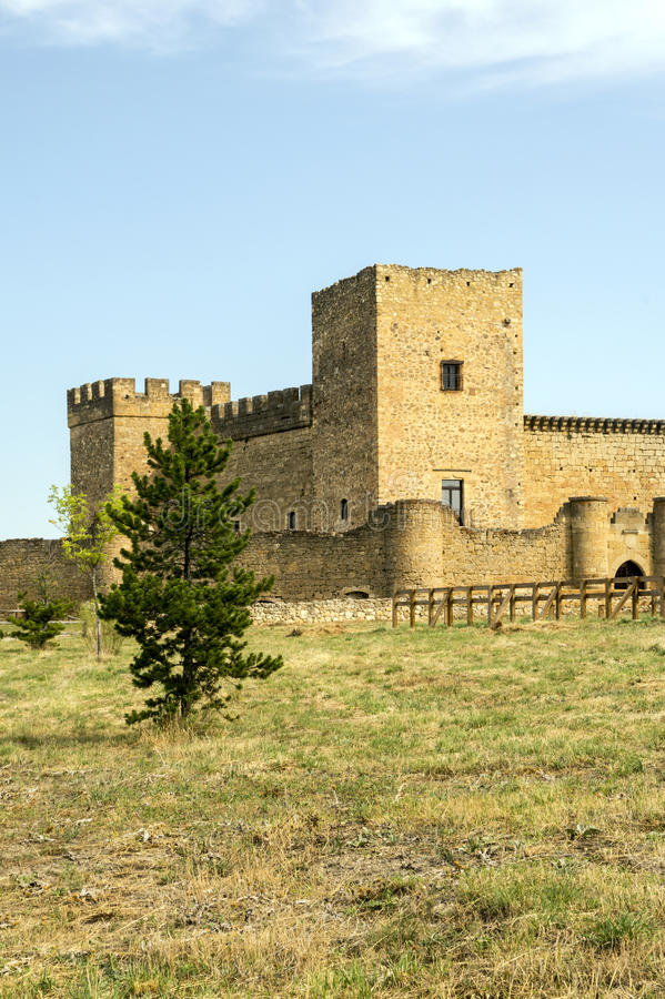 Castelo de Pedraza fotos de stock