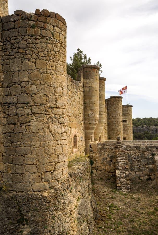 Castelo de Pedraza imagens de stock