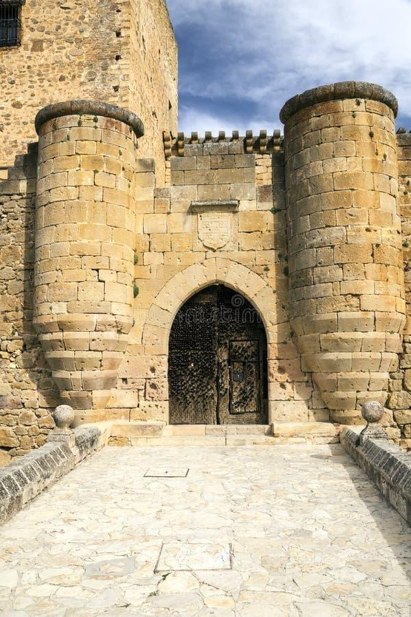 Castelo de Pedraza fotografia de stock