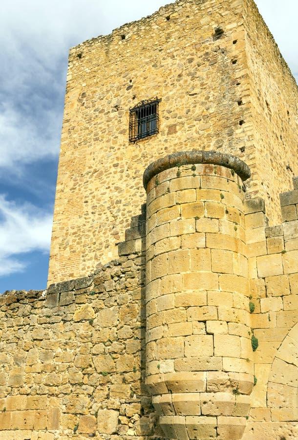 Castelo de Pedraza fotografia de stock royalty free