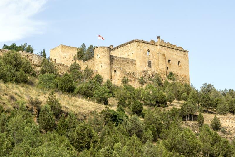 Castelo de Pedraza foto de stock royalty free