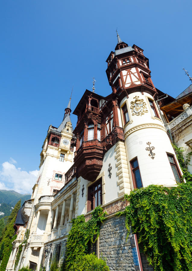 Castelo de Peles (Romênia) imagem de stock