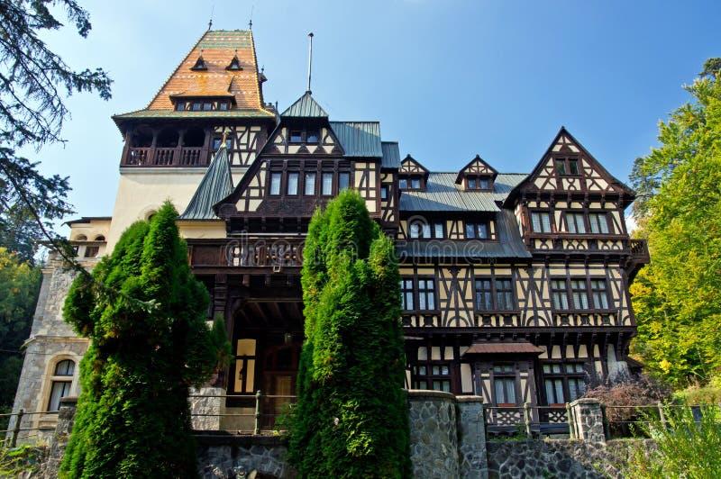 Castelo de PeliÈor. Sinaia, Romania. fotografia de stock