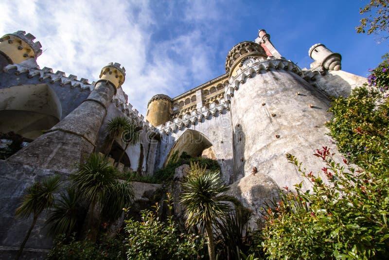 Castelo de Pena imagens de stock royalty free
