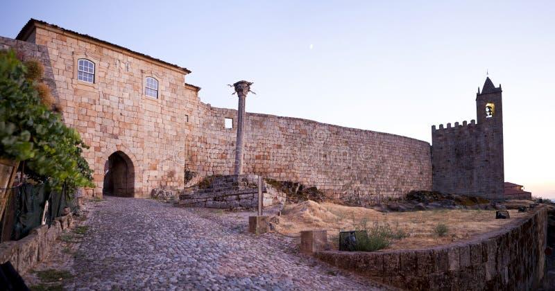 Castelo de Penamacor fotografia de stock