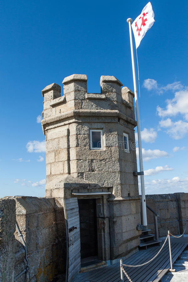 Castelo de Pendennis fotografia de stock royalty free
