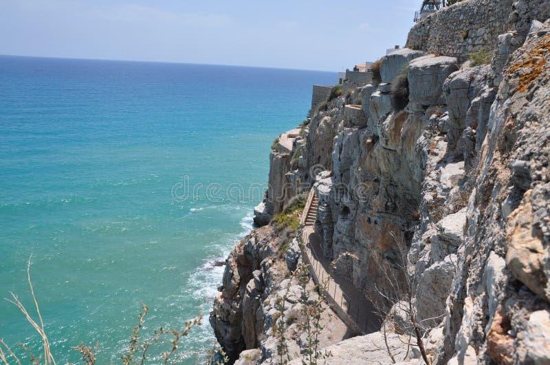 Castelo de Peniscola fotos de stock