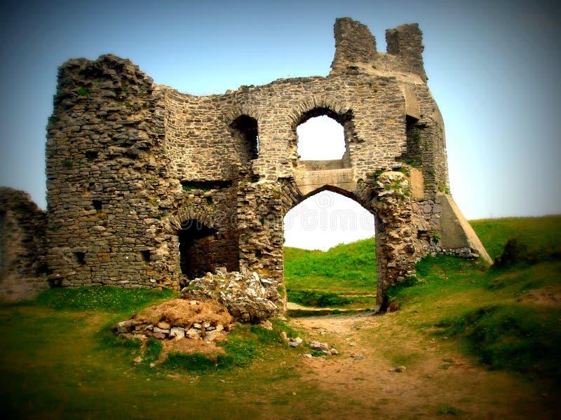 Castelo de Pennard foto de stock royalty free