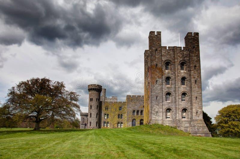 Castelo de Penryhn fotografia de stock royalty free