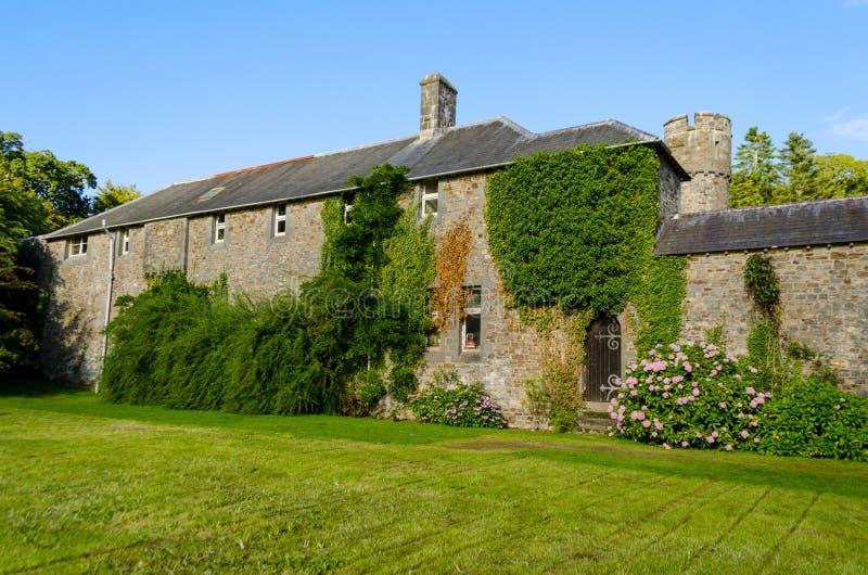 Castelo de Picton em Haverfordwest - Gales, Reino Unido imagem de stock royalty free