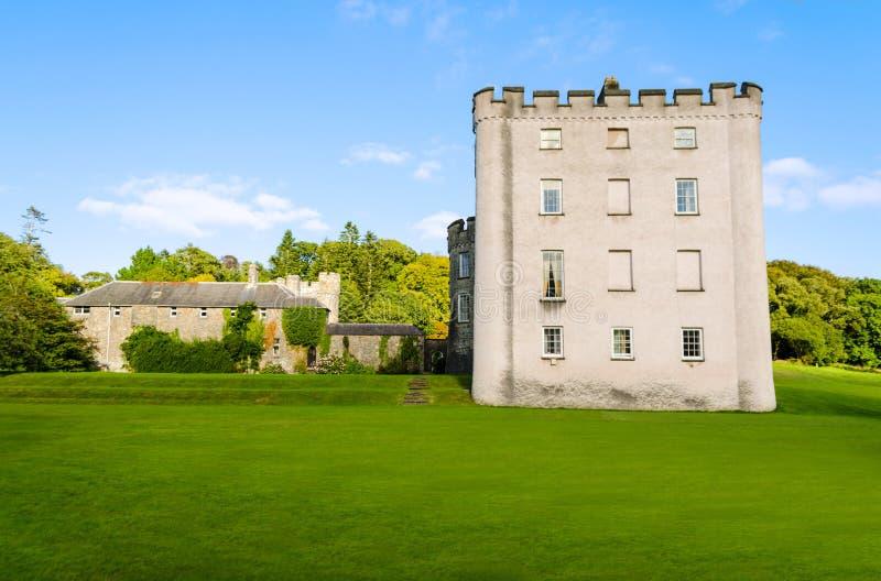 Castelo de Picton em Haverfordwest - Gales, Reino Unido foto de stock royalty free