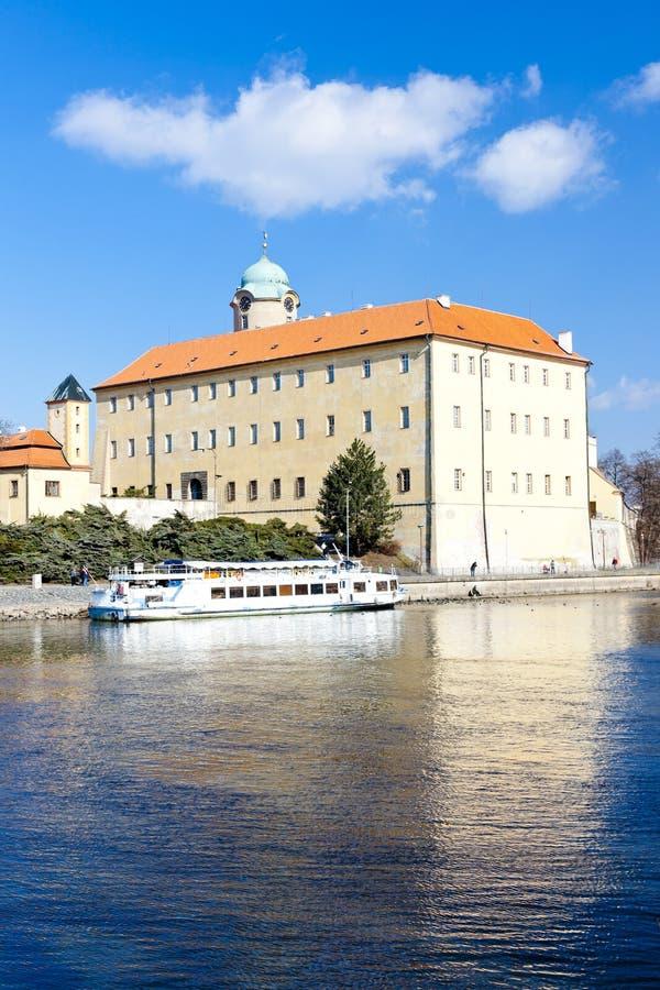 Castelo de Podebrady, República Checa imagens de stock