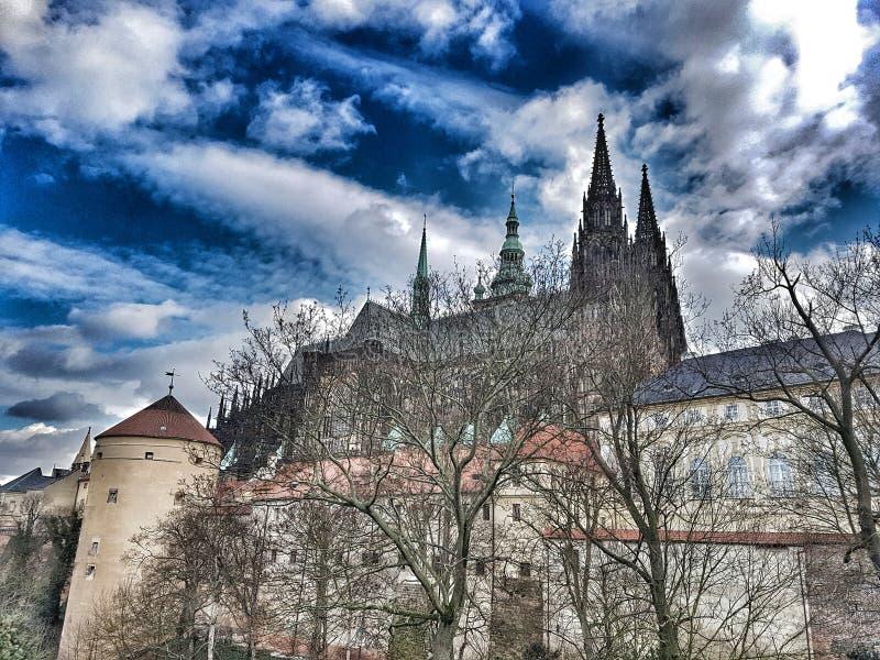 Castelo de Praga foto de stock royalty free