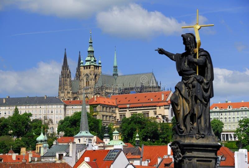 Castelo de Praga fotografia de stock