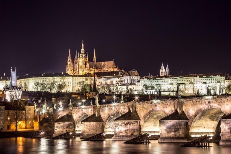 Castelo de Praga imagem de stock