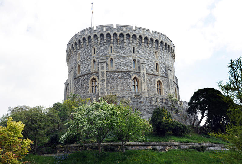 Castelo de rainha fotos de stock royalty free