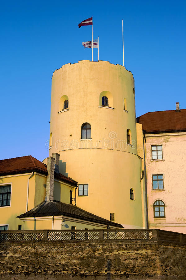Castelo de Riga foto de stock royalty free