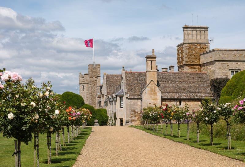 Castelo de Rockingham fotografia de stock royalty free