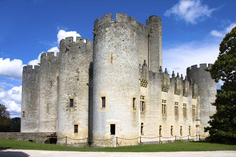 Castelo de Roquetaillade foto de stock royalty free