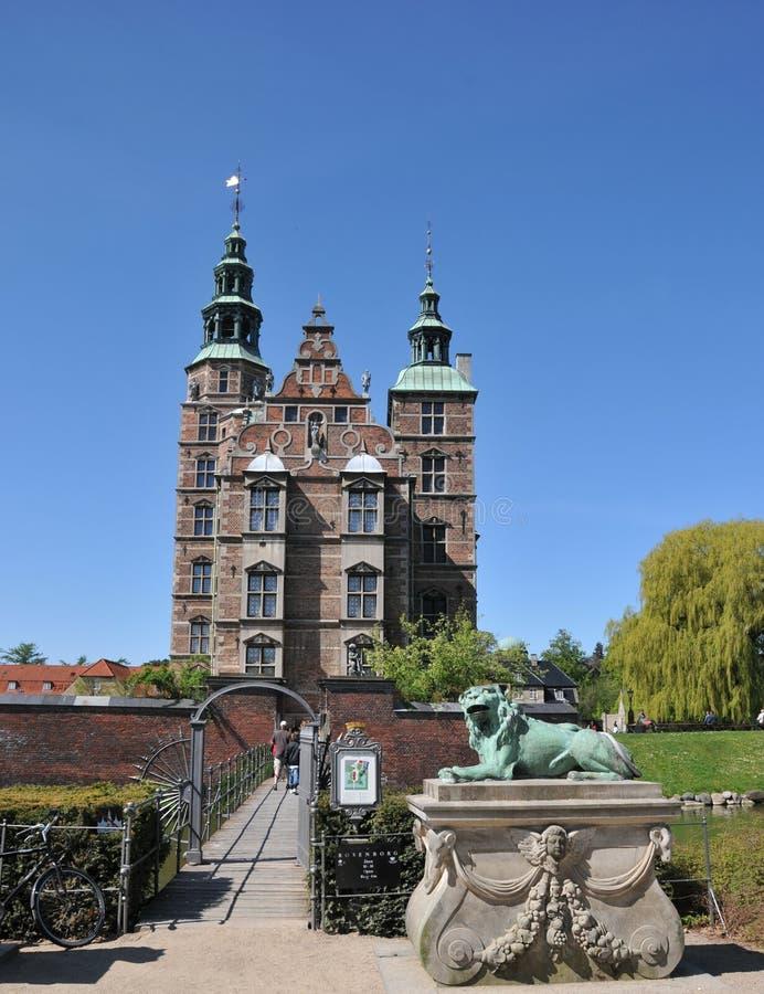 Castelo de Rosenborg imagem de stock royalty free