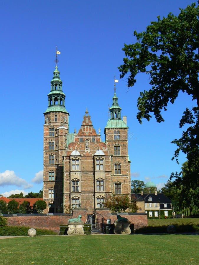 Castelo de Rosenborg em Copenhaga foto de stock