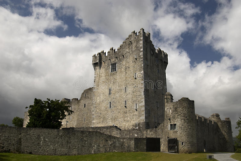 Castelo de Ross, Killarney foto de stock