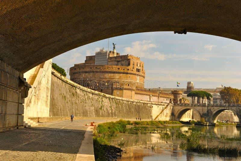 Castelo de S Angelo fotos de stock royalty free