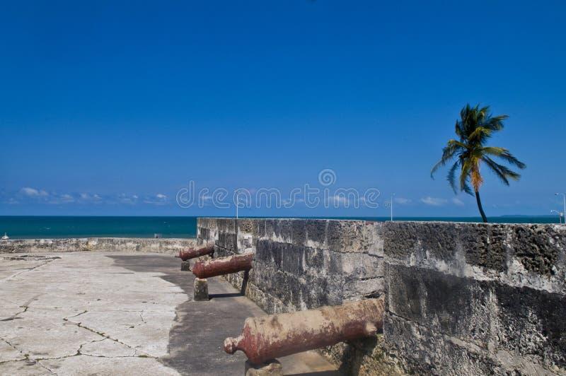 Castelo de San Felipe de Barajas fotografia de stock