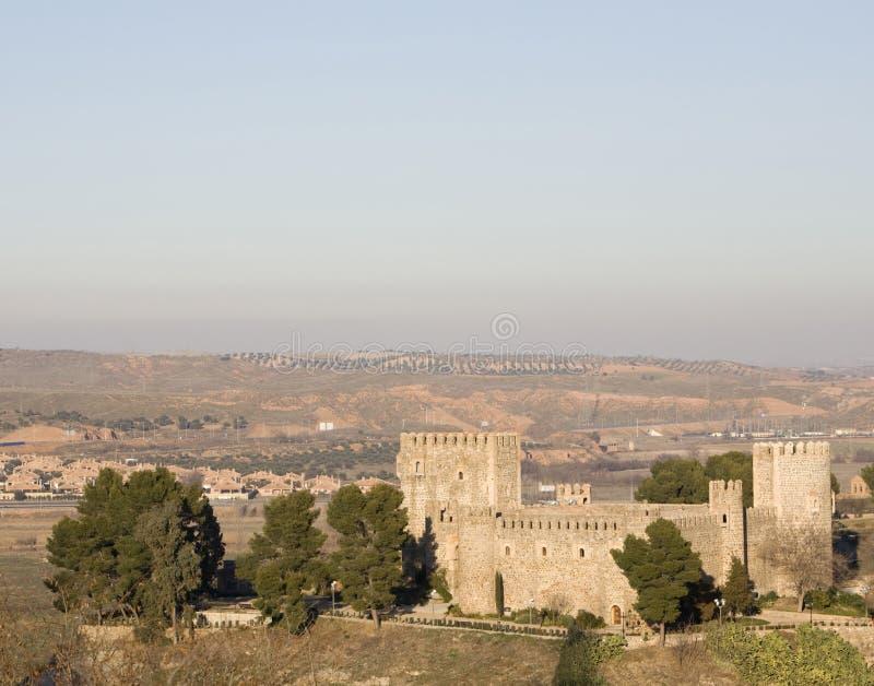 Castelo de San Servando imagens de stock royalty free