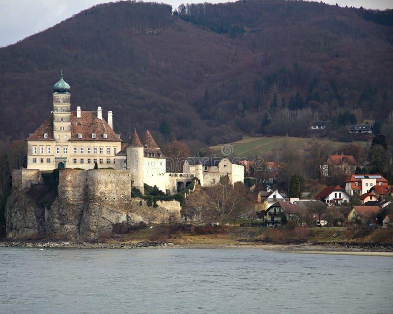 Castelo de Schonbuhel foto de stock