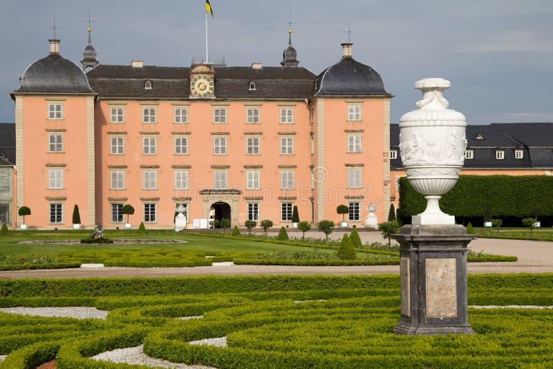 Castelo de Schwetzingen em Mannheim, Alemanha foto de stock royalty free