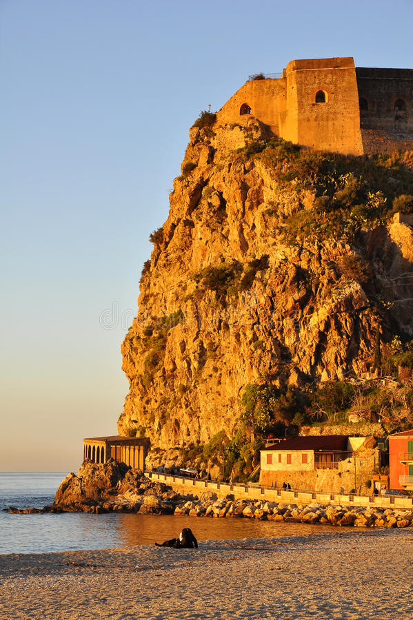 Castelo de Scilla. fotografia de stock