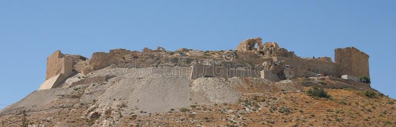 Castelo de Shawbak, Jordão foto de stock royalty free