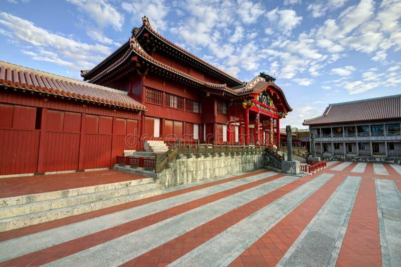 Castelo de Shuri fotografia de stock royalty free