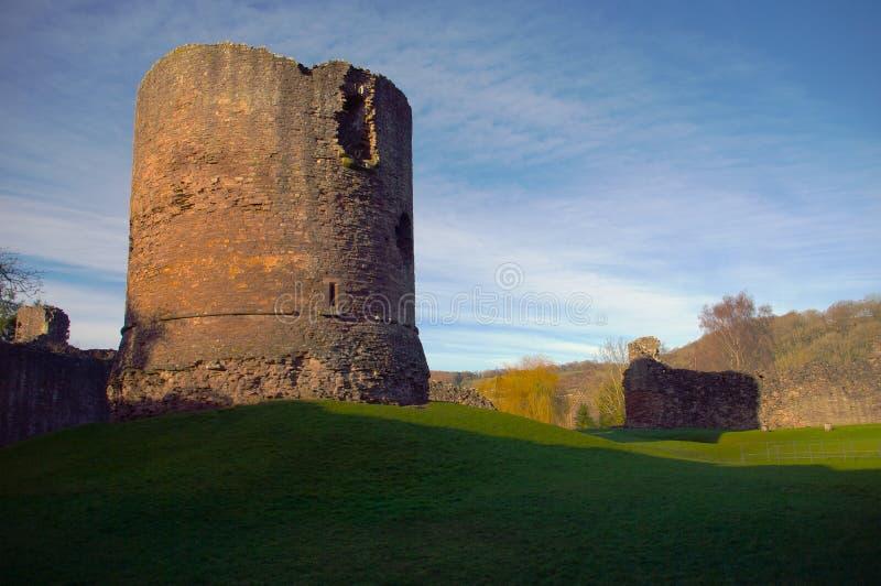 Castelo de Skenfrith imagem de stock