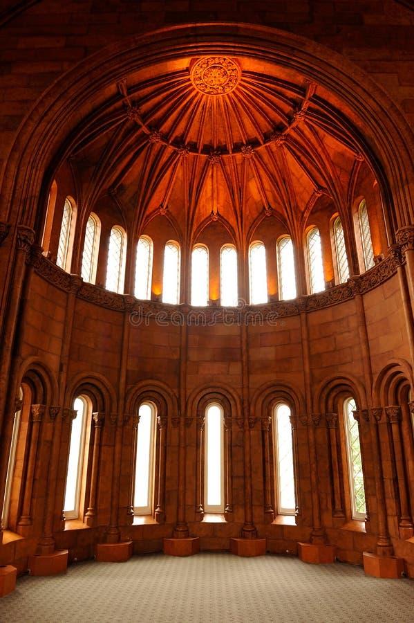 Castelo de Smithsonian, Washington, C.C. imagem de stock royalty free