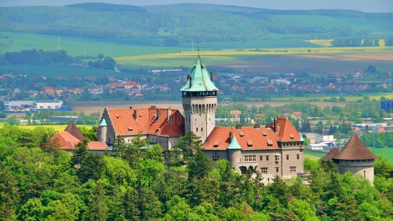 Castelo de Smolenice, Trnava foto de stock