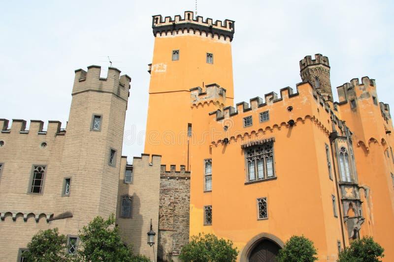 Castelo de Stolzenfels imagens de stock