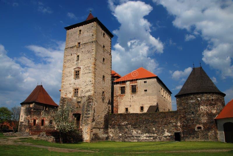 Castelo de Svihov foto de stock royalty free