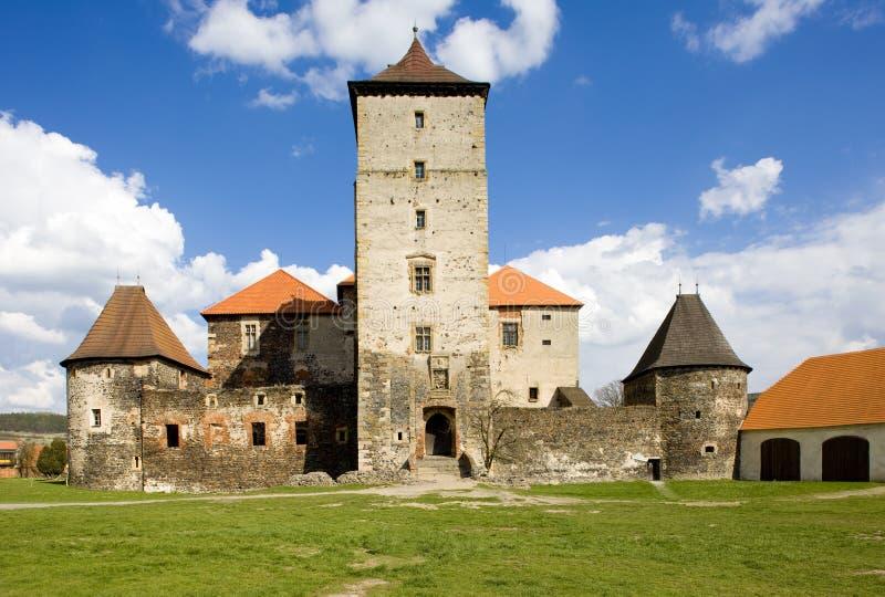 Castelo de Svihov imagem de stock