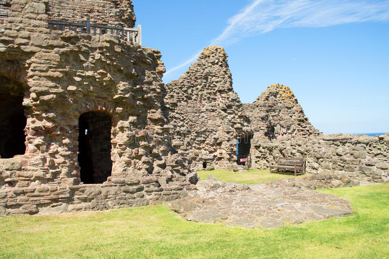 Castelo de Tantallon foto de stock royalty free