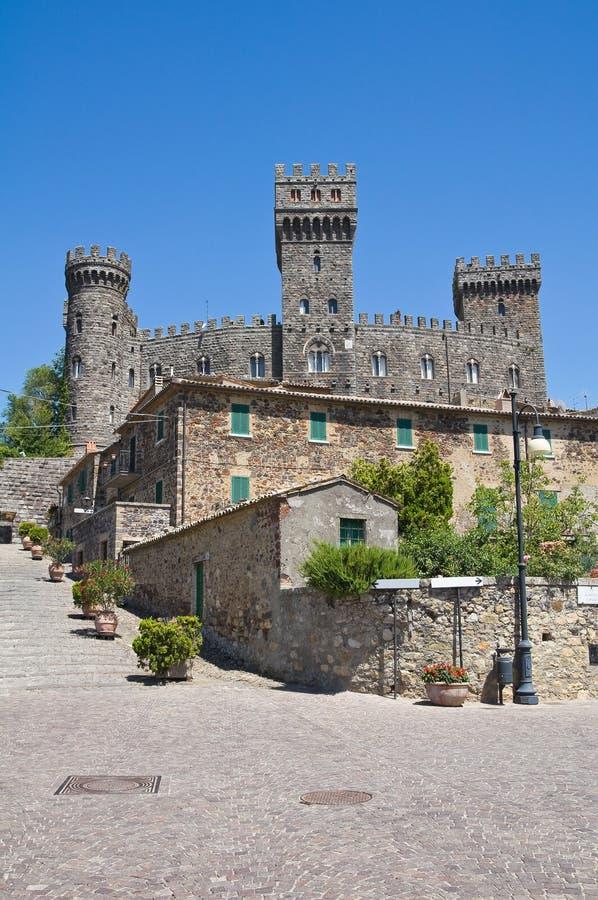 Download Castelo De Torre Alfina. Lazio. Italy. Imagem de Stock - Imagem de cidade, residential: 26501207