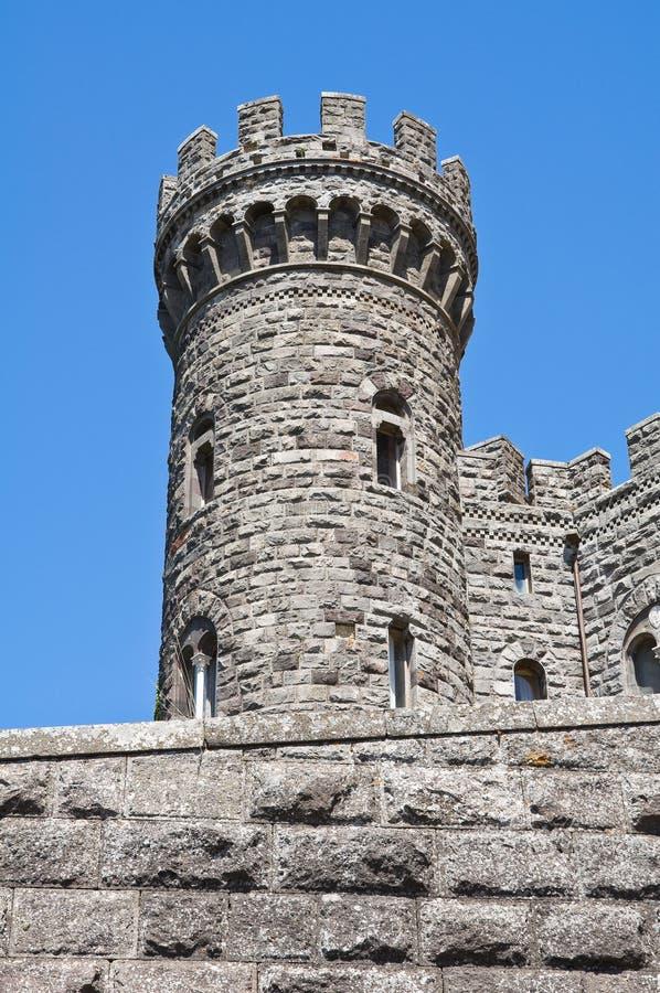 Download Castelo De Torre Alfina. Lazio. Italy. Foto de Stock - Imagem de monumento, perspective: 26501336