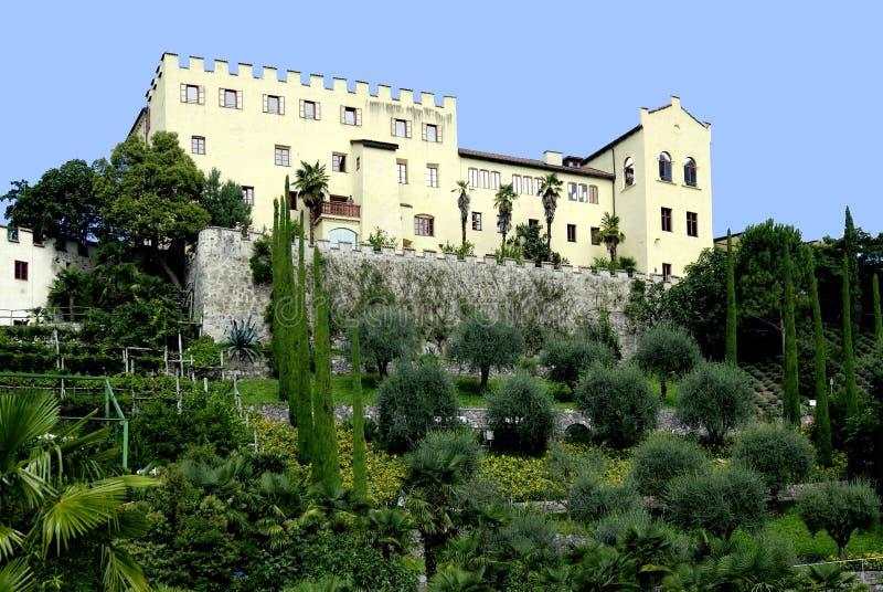Castelo de Trauttmansdorff foto de stock royalty free