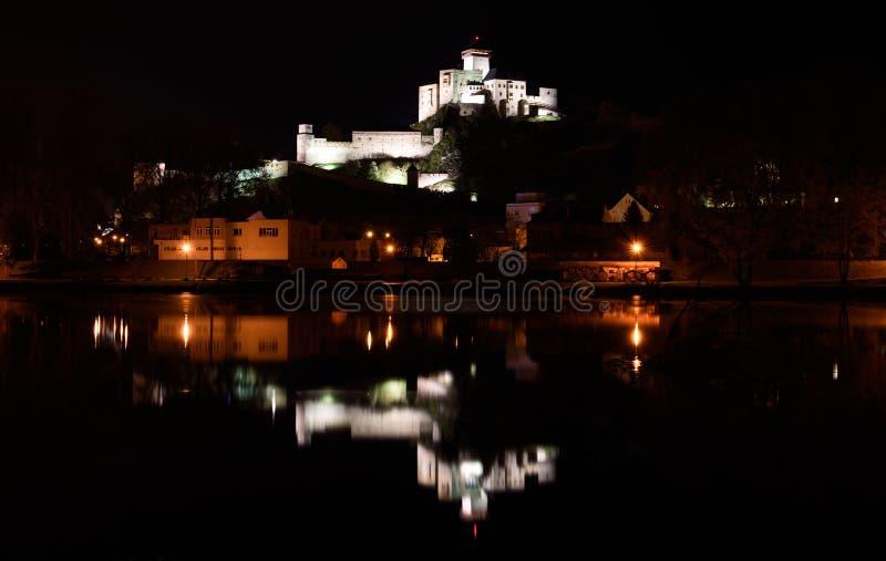 Castelo de Trencin, Eslováquia fotos de stock royalty free
