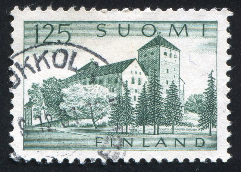 Castelo de Turku fotografia de stock royalty free