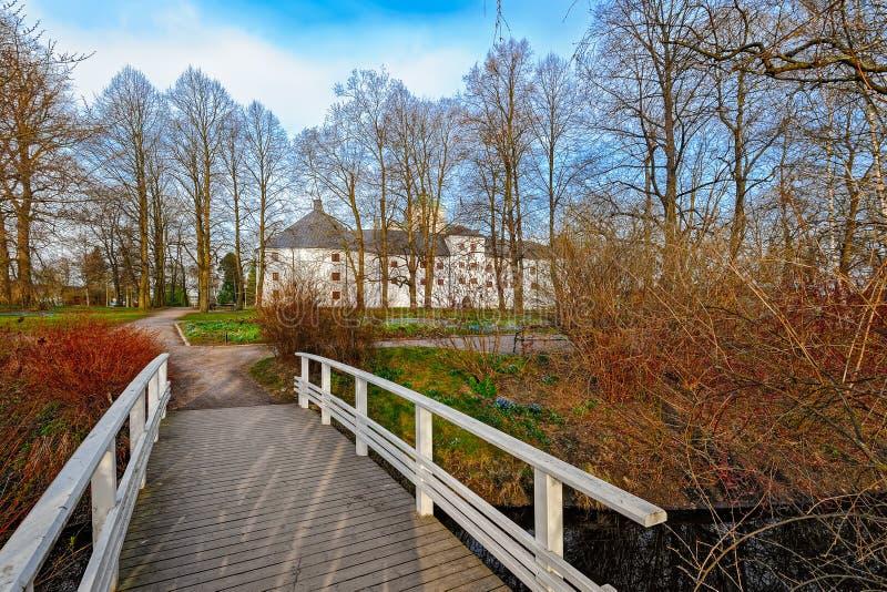 Castelo de Turku em Finlandia imagens de stock