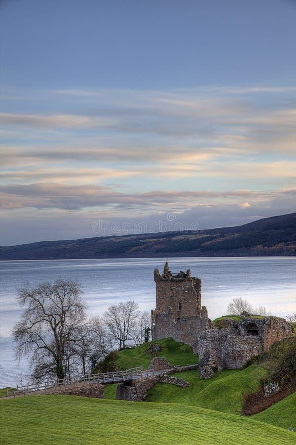 Castelo de Urqhart imagens de stock
