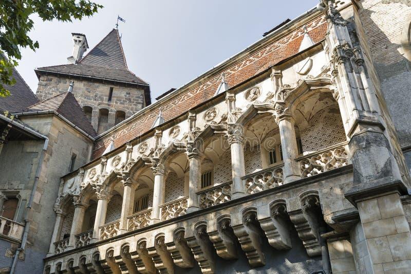 Castelo de Vajdahunyad em Budapest imagem de stock royalty free