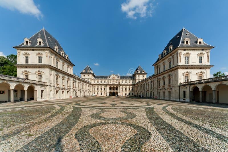 Castelo de Valentino - Turin fotografia de stock royalty free
